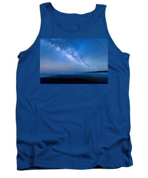 Milky Way Suspended Above Mauna Loa 1 Tank Top