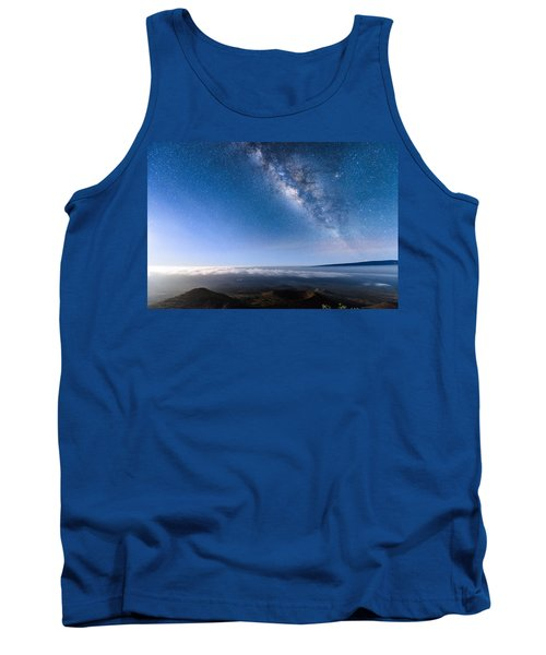Milky Way Suspended Above Mauna Loa 2 Tank Top