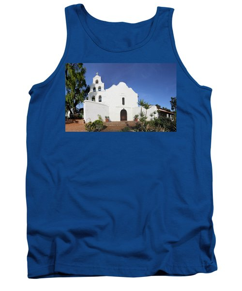 Mission Basilica San Diego De Alcala Tank Top