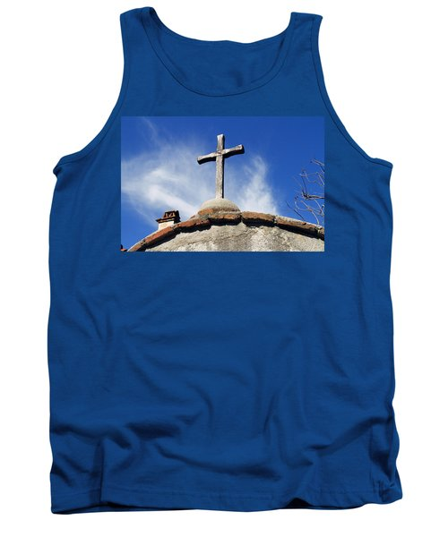 Mission Cross Tank Top by Shoal Hollingsworth