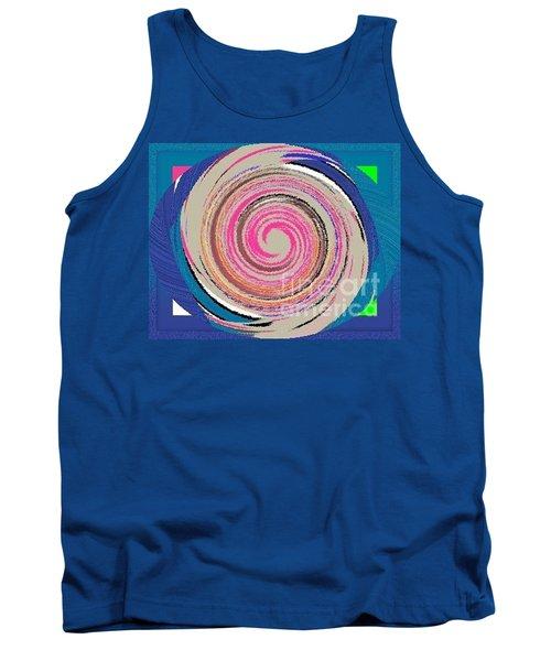 Tank Top featuring the painting Mixed by Catherine Lott