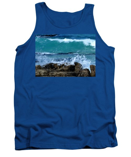 Tank Top featuring the photograph Monterey-3 by Dean Ferreira