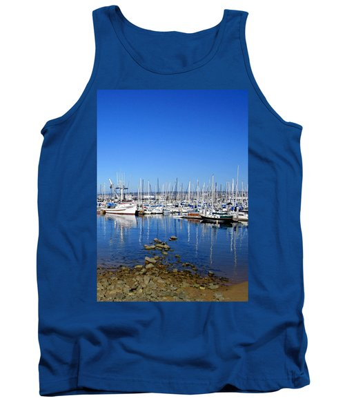 Tank Top featuring the photograph Monterey-7 by Dean Ferreira