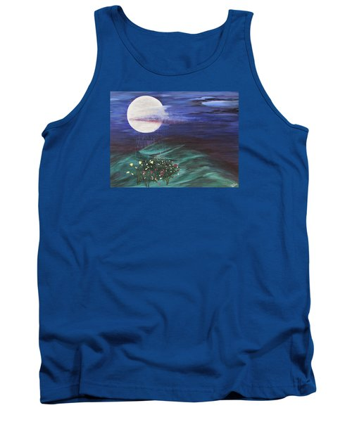 Moon Showers Tank Top by Cheryl Bailey