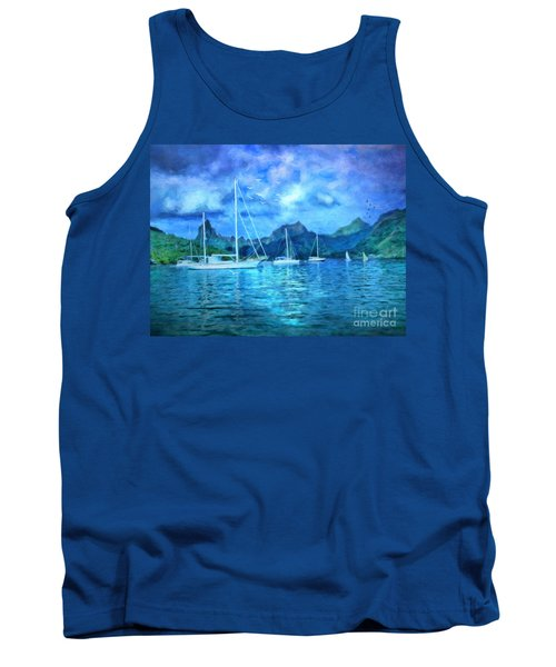 Moonrise In Mo'orea Tank Top