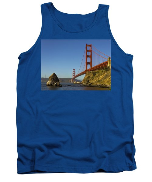 Morning At The Golden Gate Tank Top