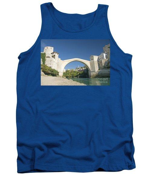 Mostar Bridge In Bosnia Tank Top