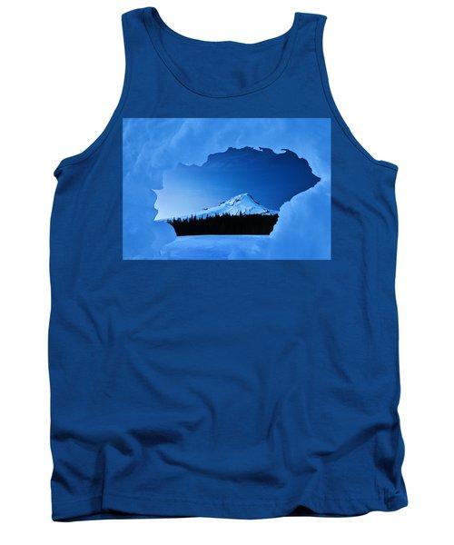 Mount Hood Blues Tank Top