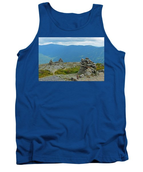 Mount Washington Rock Cairns Tank Top
