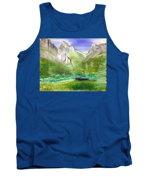 Mountain Day Tank Top