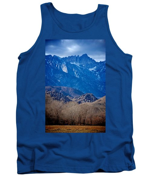 Mt. Whitney And Alabama Hills Tank Top by Eric Tressler