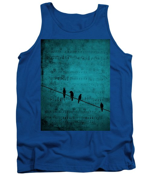 Music Soothes The Soul Tank Top by Andrea Kollo