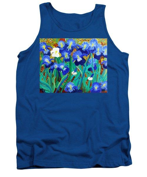 My Iris - Inspired  By Vangogh Tank Top
