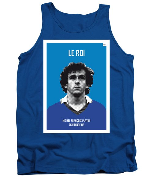 My Platini Soccer Legend Poster Tank Top