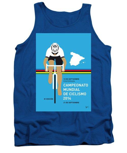 My Uci Road World Championships Minimal Poster 2014 Tank Top