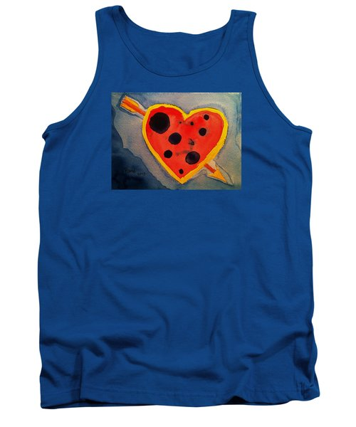 Tank Top featuring the painting Imperfect Love by Rand Swift
