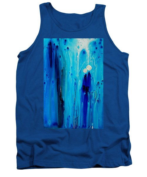 Never Alone By Sharon Cummings Tank Top