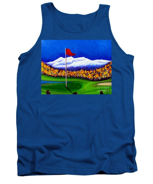 Tank Top featuring the painting Never Enough by Jackie Carpenter
