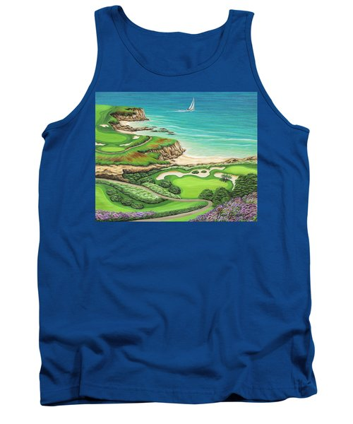 Newport Coast Tank Top by Jane Girardot