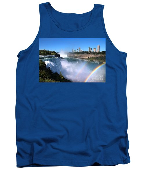 Niagara Falls Double Rainbow Tank Top