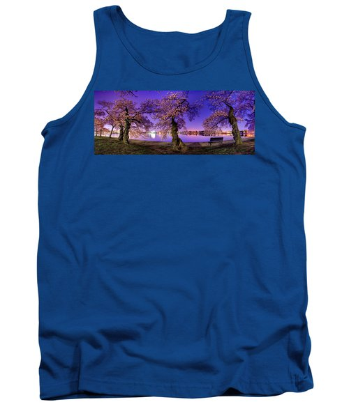 Night Blossoms 2014 Tank Top