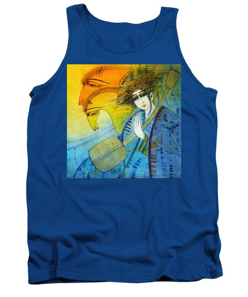 No One Can Stop My Dream Horses... Tank Top