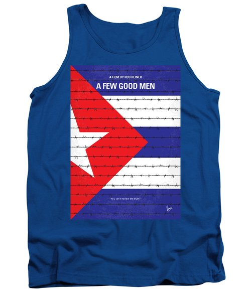 No417 My A Few Good Men Minimal Movie Poster Tank Top by Chungkong Art