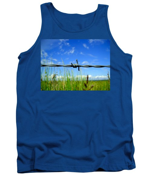 Tank Top featuring the photograph Off Limits by Nina Ficur Feenan