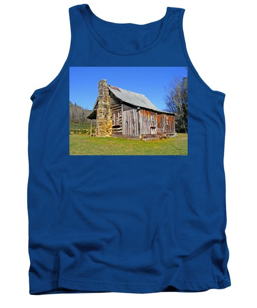 Old Cabin Along Macedonia Church Road Tank Top