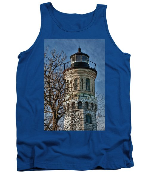Tank Top featuring the photograph Old Fort Niagara Lighthouse 4484 by Guy Whiteley