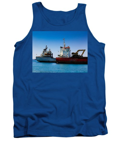 Tank Top featuring the photograph Old Ships by Kevin Desrosiers