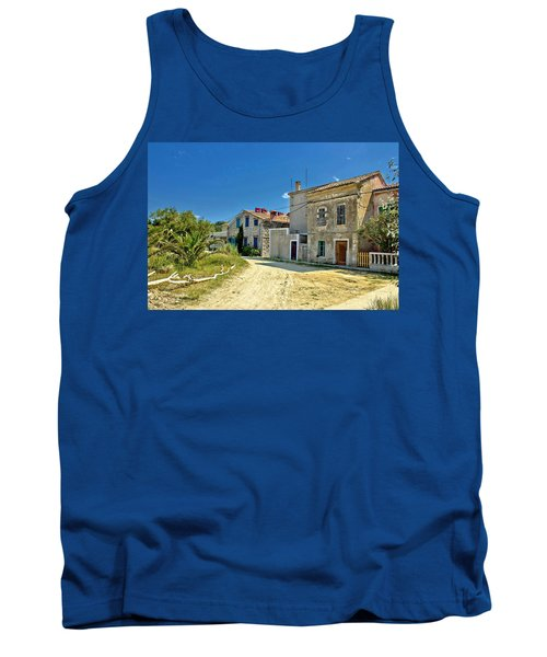 Old Streets Of Susak Island Tank Top by Brch Photography