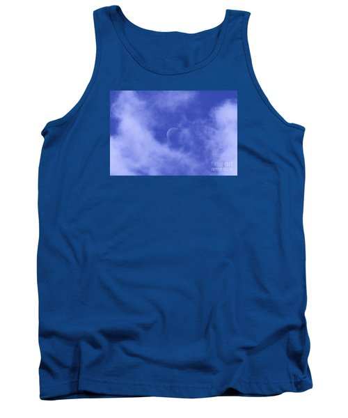 Tank Top featuring the photograph Once In A Blue Moon by Judy Whitton