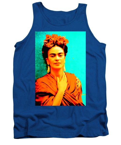 Orange You Glad It Is Frida Tank Top