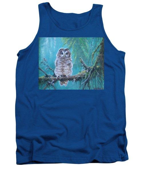 Owl In The Woods Tank Top