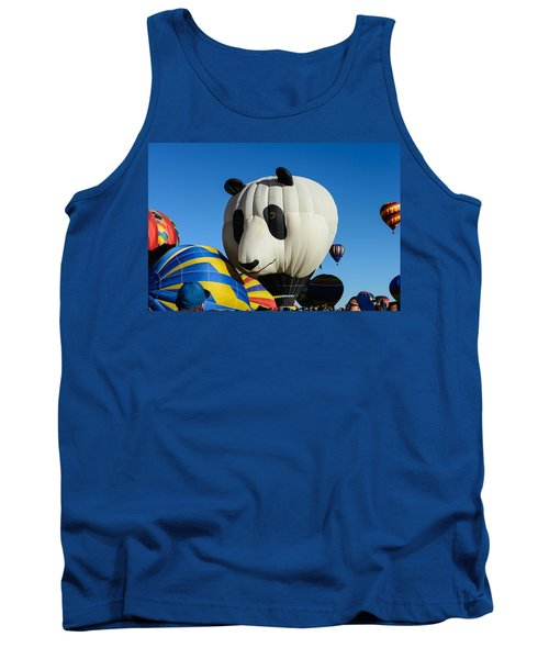 Panda Balloon Tank Top
