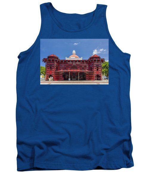 Parque De Bombas Fire Station In Ponce Puerto Rico Tank Top