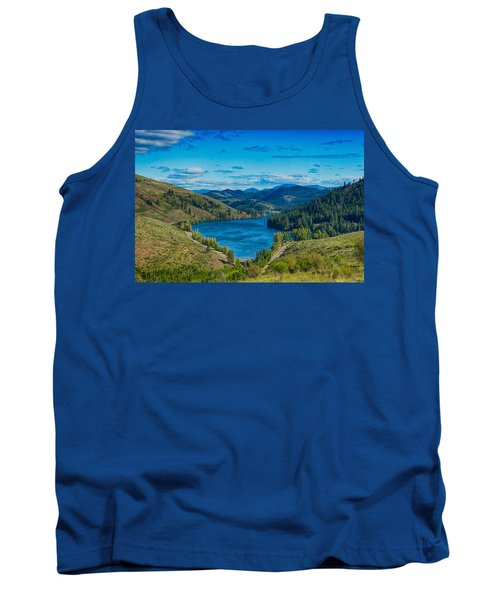 Patterson Lake In The Summer Tank Top
