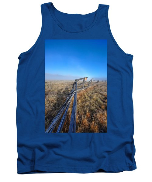 Tank Top featuring the photograph Pettit Fog by David Andersen