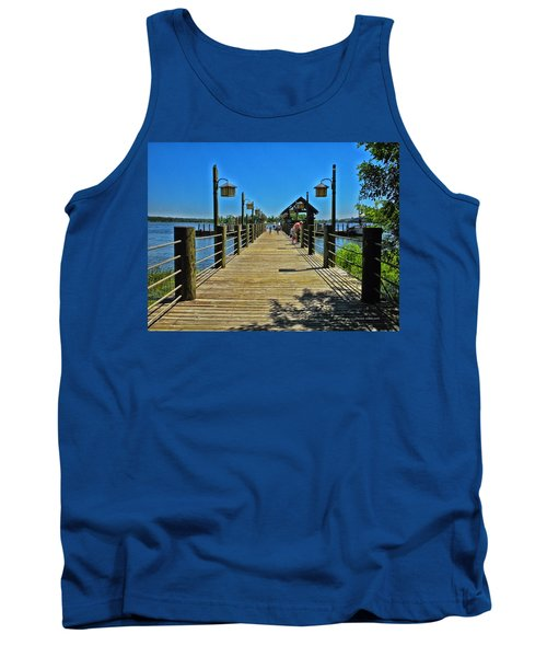 Pier At Fort Wilderness Tank Top
