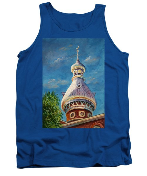 Play Of Light - University Of Tampa Tank Top by Roxanne Tobaison