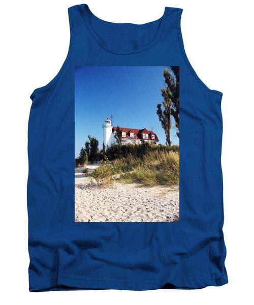 Point Betsie Lighthouse Tank Top