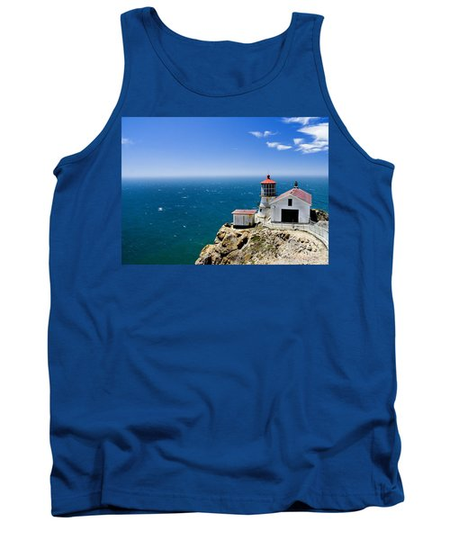 Point Reyes Lighthouse California Tank Top