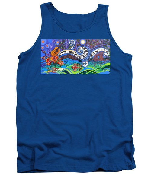 Power Of Music II  Tank Top by Genevieve Esson