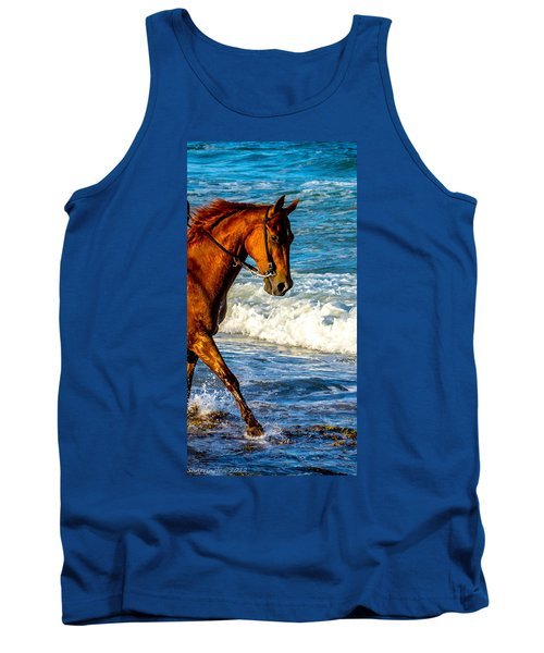 Prancing In The Sea Tank Top