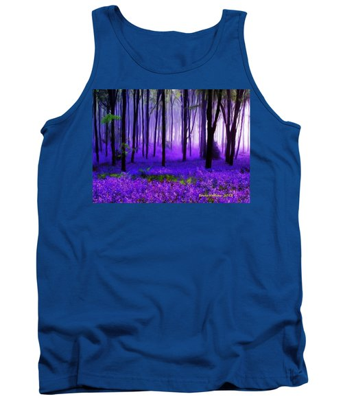 Purple Forest Tank Top