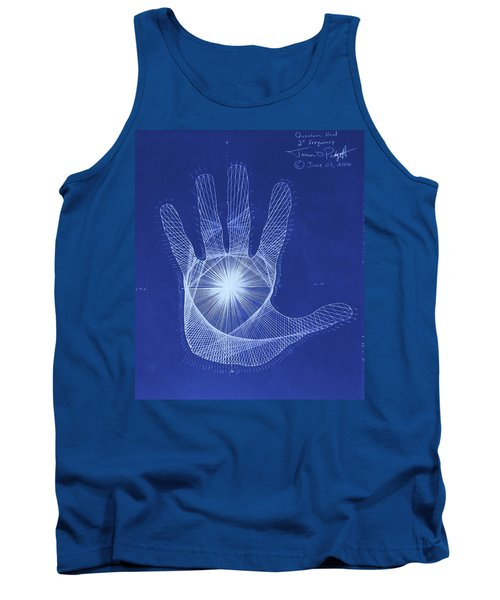 Quantum Hand Through My Eyes Tank Top by Jason Padgett