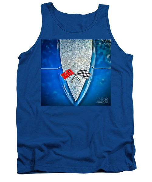 Race To Win Tank Top by Colleen Kammerer