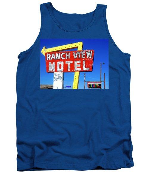 Ranch View Motel Tank Top