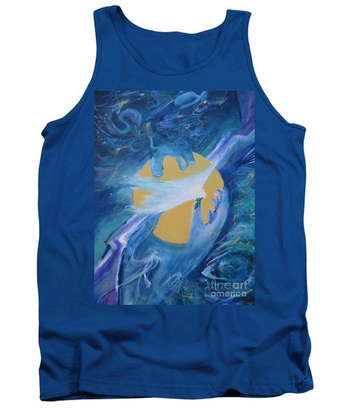 Reaching For Peace Tank Top